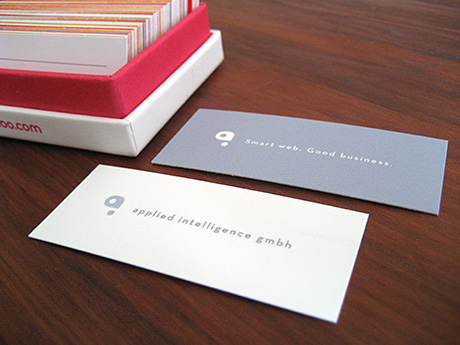 Applied Intelligence Moo Minicards