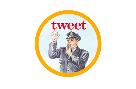 tweet policeman