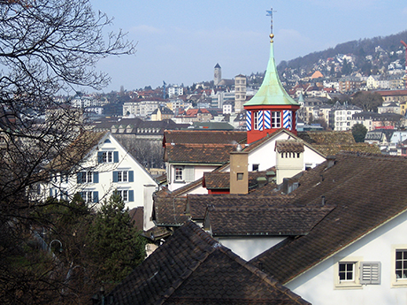 Second view from the Lindenhof