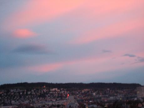 Dawn in Zurich
